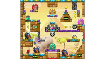 Miiverse screenshot of the 95th official level in the online community of Mario vs. Donkey Kong: Tipping Stars