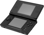 A black DS Lite.
