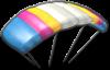 Parafoil glider from Mario Kart 8