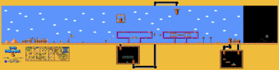 Super Mario Bros. 3 World 2-1 Map