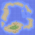 The map for Koopa Beach 1.