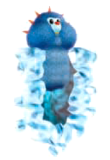 A Snow Mole from Donkey Kong Jungle Beat.