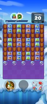 Stage 1028 from Dr. Mario World