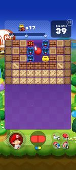 Stage 254 from Dr. Mario World since version 2.1.0