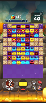 Stage 430 from Dr. Mario World