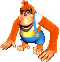 Artwork of Lanky Kong from Donkey Kong 64