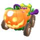 Pumpkin Kart from Mario Kart Tour