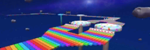 RMX Rainbow Road 2R from Mario Kart Tour