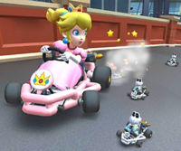 The icon of the Daisy Cup challenge from the 1st Anniversary Tour in Mario Kart Tour