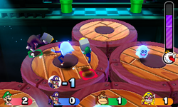 King Boo's Light Smite from Mario Party: Star Rush