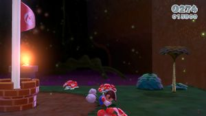 Luigi sighting found in Piranha Creeper Creek in Super Mario 3D World.