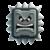 Thwomp icon in Super Mario Maker 2 (New Super Mario Bros. U style)
