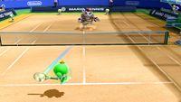 A screenshot from Mario Tennis: Ultra Smash