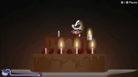 Light the Cake microgame in WarioWare: Get It Together!