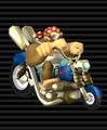 Funky Kong's Wario Bike