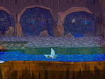 Boat Mode from Paper Mario: The Thousand-Year Door.