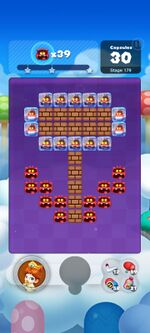 Stage 179 from Dr. Mario World since March 18, 2021
