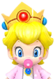 Sprite of Dr. Baby Peach from Dr. Mario World