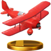 Light Plane trophy from Super Smash Bros. for Wii U