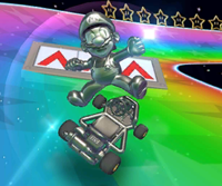 The Metal Mario Cup Challenge from the New Year's Tour of Mario Kart Tour