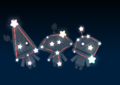 Whittles' constellation in the game Mario Party 9.