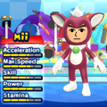 A Chip costume for Miis in the Wii version of Mario & Sonic at the London 2012 Olympic Games.
