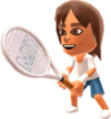 A male Mii from Mario Tennis Open