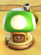 Green Toad House