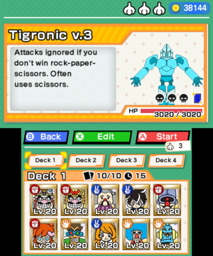 Choosing to fight the Tigronic v.3