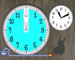 Clock-Watcher in WarioWare: Smooth Moves.