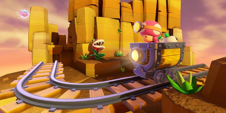 Picture shown with the first question in Captain Toad: Treasure Tracker Fun Quiz