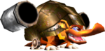 Army Dillo, from Donkey Kong 64 (in-game)