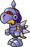 A Dark Koopatrol from Paper Mario: The Thousand-Year Door.
