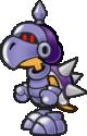 A Dark Koopatrol from Paper Mario: The Thousand-Year Door.
