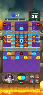 Stage 427 from Dr. Mario World
