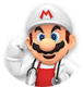 Icon of Dr. Fire Mario from Dr. Mario World
