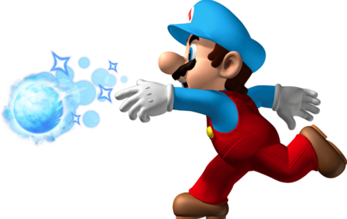 The Ice Mario picture, just flipped