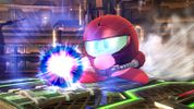 Kirby with Samus Aran's ability