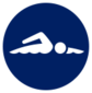 Event icon used for Swimming - 100m Freestyle in Mario & Sonic at the Olympic Games Tokyo 2020