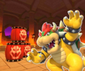GBA Bowser Castle 2R from Mario Kart Tour.