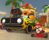 The icon of the Larry Cup challenge from the Los Angeles Tour in Mario Kart Tour.