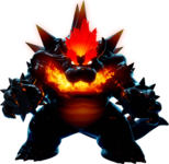 Art of Fury Bowser from Super Mario 3D World + Bowser's Fury