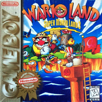 Higher quality version of the box art of the Player's Choice rerelease of Wario Land: Super Mario Land 3 for the Game Boy, originally uploaded by user Wildgoosespeeder.