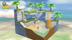 Piranha Creeper Cove from Captain Toad: Treasure Tracker