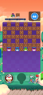 Stage 15B from Dr. Mario World