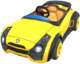 Sports Coupe from Mario Kart Tour.