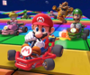 Bowser Cup Challenge from the Valentine's Tour of Mario Kart Tour
