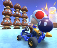 Toad Cup Challenge from the Valentine's Tour of Mario Kart Tour