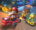 The Pauline Cup Challenge from the Vancouver Tour of Mario Kart Tour