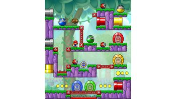 Miiverse screenshot of the 69th official level in the online community of Mario vs. Donkey Kong: Tipping Stars